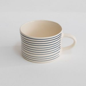 Product image of blue striped mug