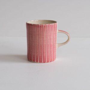 Pink demi coffee mug by Musango